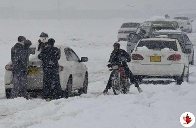 पाक : बारिश और बर्फबारी से 14 की मौत, 7 जिलों में इमरजेंसी लागू