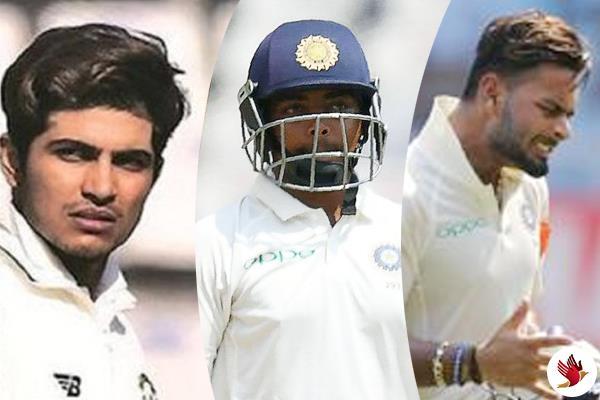 प्रैक्टिस मैच में 0 पर आऊट हुए टीम इंडिया के युवा बल्लेबाज पृथ्वी-शुभमन