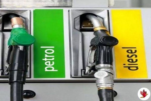 लगातार दूसरे दिन पेट्रोल के दाम रहे स्थिर और डीजल के दाम में गिरावट दर्ज