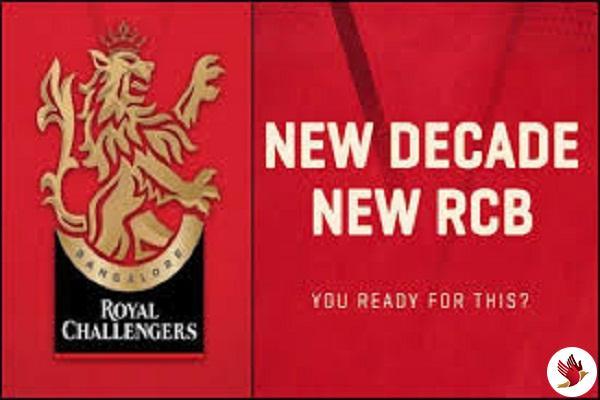 RCB ने IPLके 13वें संस्करण से पहले प्रदर्शित किया नया लोगो