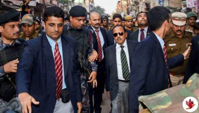 राष्ट्रीय सुरक्षा सलाहकार ने दंगा ग्रस्त इलाकों का किया दौरा