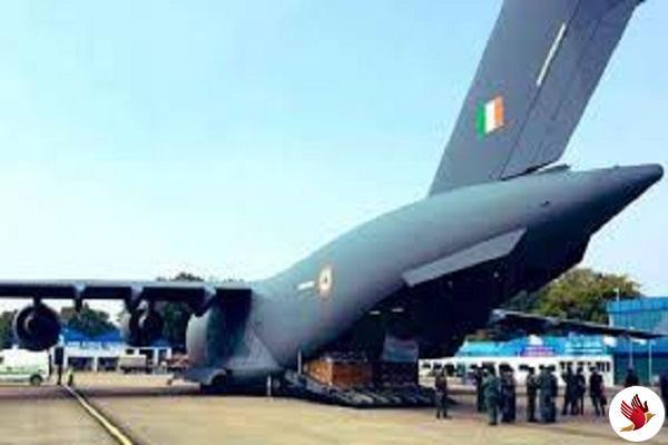 चीन से 76 भारतीयों और 36 विदेशियों को भारत लाया वायुसेना का विमान