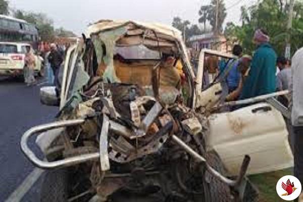 मुजफ्फरपुरः ट्रैक्टर और स्कॉर्पियो की भीषण टक्कर में 14 लोगों की मौत