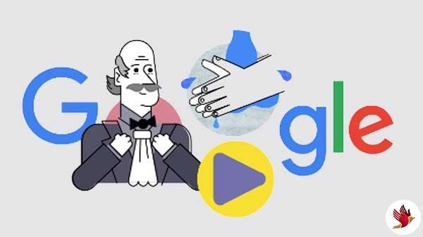 गूगल अपने डूडल में बता रहा है कोरोना वायरस से बचने का तरीका