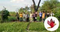 कृषि विज्ञान केन्द्र के वैज्ञानिकों ने दी कृषकों को समसामयिक जानकारी