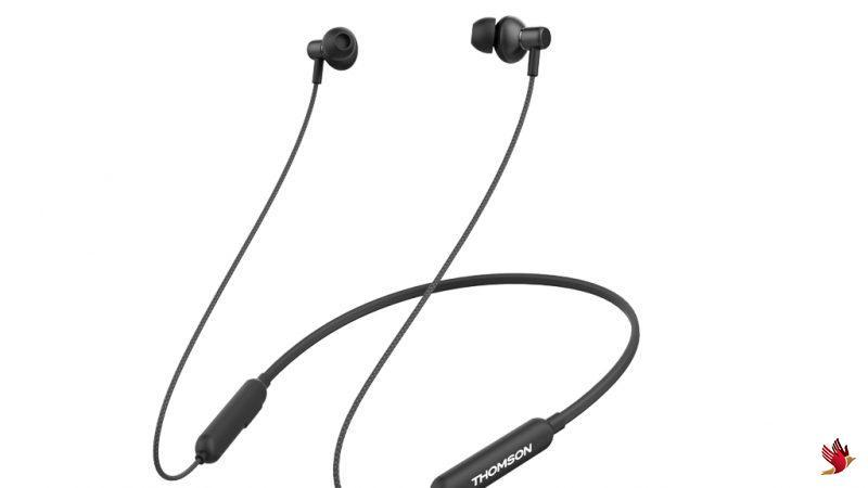 European Electronics brand Thomson Audio launches BNB-01 Neckband in-Ear Wireless Earphones