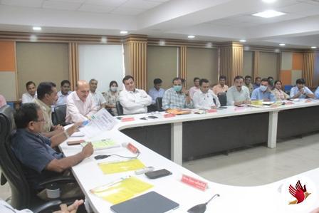 સાબરકાંઠા જિલ્લા સંકલન સમિતિની બેઠક યોજાઇ