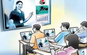 ઓનલાઇન શિક્ષણ મેઘધનુષી પરપોટો