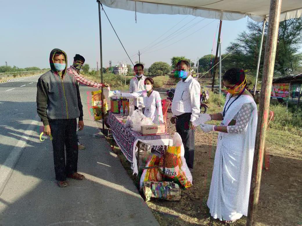 प्रवासी मजदूरों की मदद के लिए कार्यरत विधिक सेवा प्राधिकरण- श्री अमर नाथ