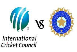 एकबार फिर आमने-सामने BCCI और ICC