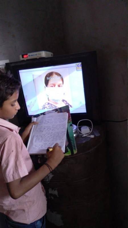 અરવલ્લી ૩૧૦૭૧ બાળકોને ઘર આંગણે મળી રહી છે જ્ઞાન ગંગા