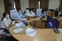 टीएल बैठक में अनुपस्थित रहने पर झुण्डपुरा के सीएमओ का 5 दिन का वेतन काटने के निर्देश