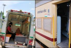 रेलवे के कोविड केयर कोच का इस्तेमाल शुरू, शकूरबस्ती शेड में भर्ती कराए गए दो मरीज