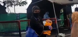 Tripura woman gives birth to a healthy child in Bangladesh amid COVID-19 lockdown