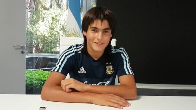 लुका रोमेरो :  सबसे युवा फुटबॉलर