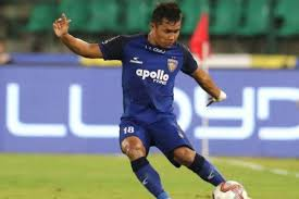 Mizo footballer Jerry Lalrinzuala extends ISL deal with Chennaiyin FC