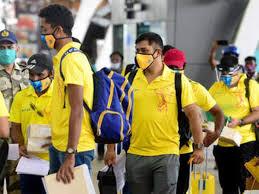 चेन्नई सुपर किंग्स का खिलाड़ी कोरोना पॉजिटिव