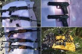 बीएसएफ ने नाकाम की हथियारों की तस्करी