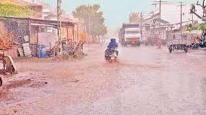 કચ્છમાં વરસાદ હજુ કેડો મૂકતો નથી : એકથી ત્રણ ઇંચ વરસાદ