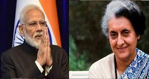 मोदी और प्रियंका ने दी इंदिरा गांधी को श्रद्धांजलि