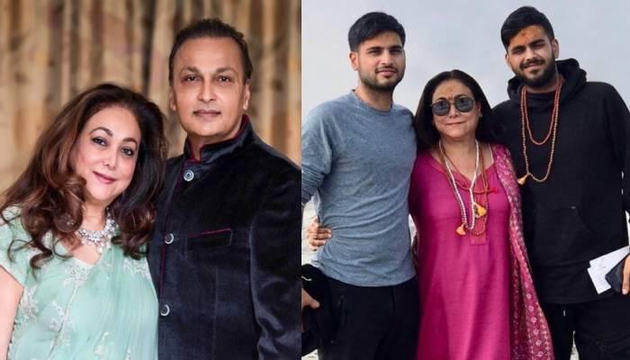 टीना ने पति अनिल अंबानी और बेटों के लिए लिखा खास पोस्ट