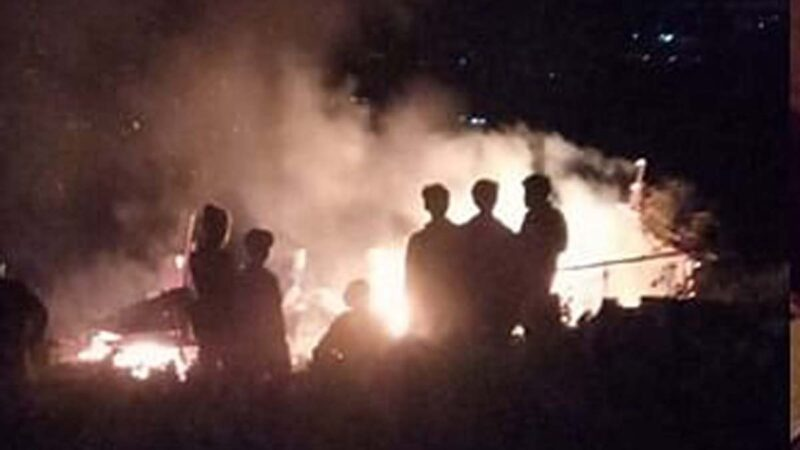 3 minor girls charred to death, 1 minor boy receives serious burn injuries in Kangpokpi