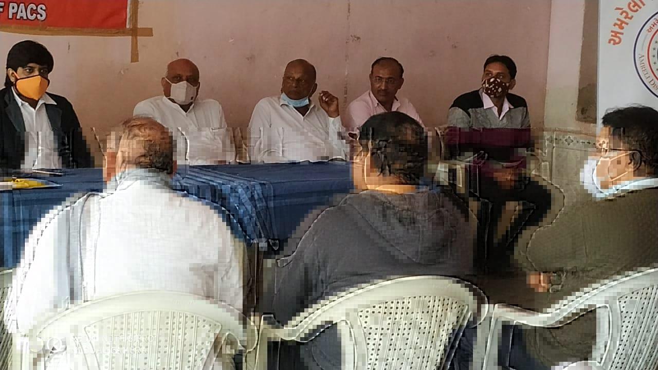 દામનગર : અમરેલી જિલ્લા સહકારી સંઘ આયોજિત એક સપ્તાહ મંત્રી મેનેજરશ્રીઓની તાલીમ
