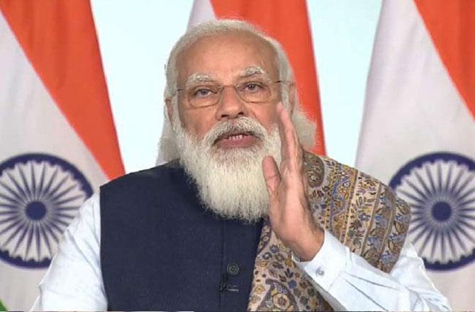 PM મોદીએ રસીકરણ અભિયાનનું ઉદ્ઘાટન કર્યું