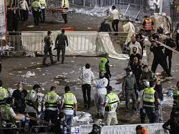 इस्राइल: भगदड़ में 40 लोगों की मौत