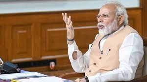 एम मोदी ने की समीक्षा बैठक